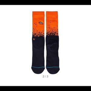 NWOT Stance Denver Broncos Socks - L